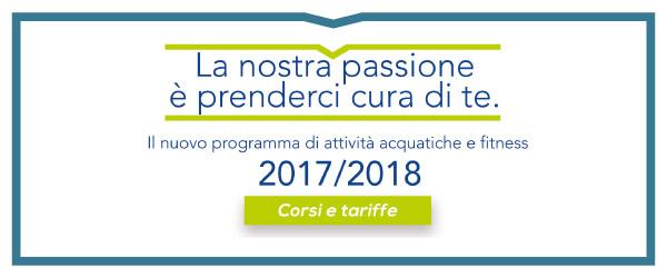 Attività Sportive 2017-2018. Tariffe ed orari in dettaglio!